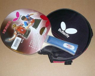 Butterfly Table Tennis Racket TBC 201, w/Case, New