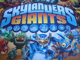 121   C7 Any Topps SKYLANDERS GIANTS Trading Card Hat PUZZLE COLOUR ME