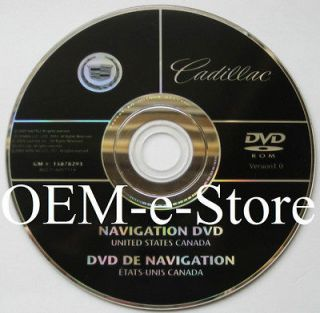 Genuine 2007 Cadillac Escalade Sport / ESV / EXT Navigation DVD Map U