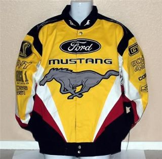 FORD MUSTANG Cobra GT MACH 1 Car Racing COTTON JACKET
