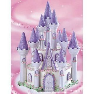 Wilton 301 910 Romantic Princess Castle Birthday Cake Set NEW