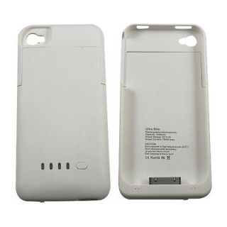 External Charger Backup Battery Case For iPhone 4G 4Gs 4S USB Charging