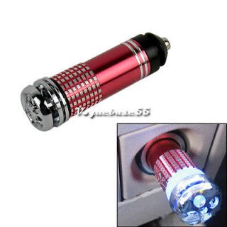 Red Mini Auto Car Fresh Air Purifier VE4A Ionic Air Purifier Ionizer