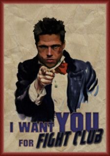 FIGHT CLUB I WANT YOU UNCLE DURDEN T SHIRT