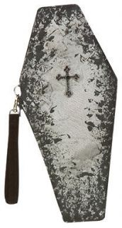 Coffin Clutch Handbag for Vampire Halloween Costume