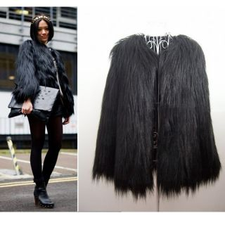 faux fur in Coats & Jackets
