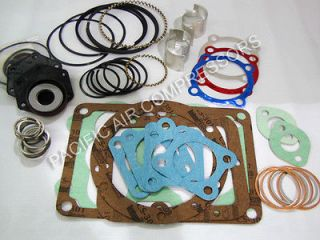 Air Compressor Rebuild Tune up Kit for Two Stage Compressors Parts