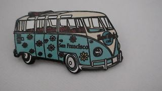 Newly listed San Francisco VW Volkswagaon Hard Rock Cafe Van Pin Pals