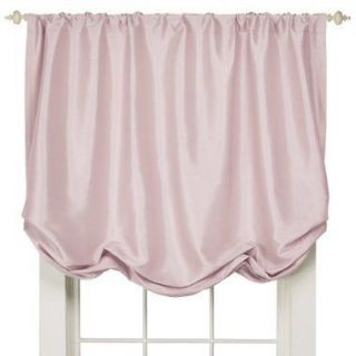 SIMPLY SHABBY CHIC PINK FAUX SILK BALLOON WINDOW SHADE