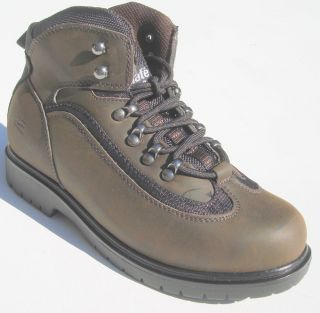 DEER STAGS BUSTER DARK BROWN ANKLE BOOTS WATERPROOF & THINSULATE