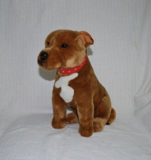 NEW* PUPPY DOG STAFFY STAFFORDSHIRE BULL TERRIER PLUSH TOYS 40cm