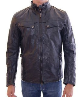 NWT $2100 BELSTAFF New Birling Prof Vent Leather Jacket Man Antique