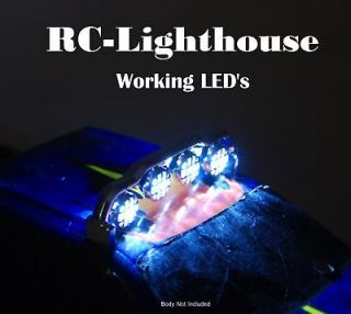 RC Light Bar with 4 working LEDs Super Bright 4WBarSM
