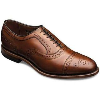 Allen Edmonds Mens Strand Walnut Burnished Calf Shoe 1635 Size 13 D