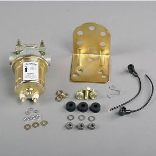 NEW CARTER UNIVERSAL MARINE ELECTRIC FUEL PUMP 12V P4389