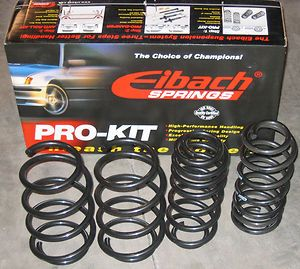 Eibach 06 08 DODGE Charger V8 Pro Kit Lowering Springs (Fits Dodge