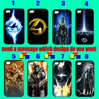 1pc Halo Master Chief Cortana Reach Soldier Armour black iphone 4 4s