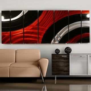 Metal Modern Abstract Wall Art Painting Critical Mass Sculpture By Jon
