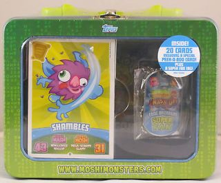 MOSHI MONSTERS monster TRADING CARD COLLECTORS TIN * Mash series 3