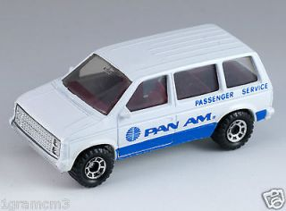 Matchbox Dodge Dodge Caravan Pan Am Passenger Service Superfast Macau