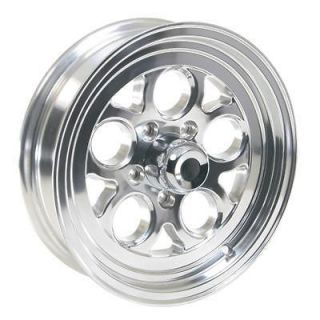 Summit Racing Polished Drag Thrust Wheel 15x4 5x4.75 BC