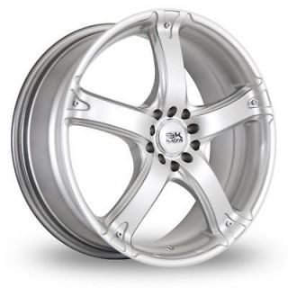 17 BK Racing 333 Alloy Wheels & Goodyear Eagle F1 GS D3 Tyres