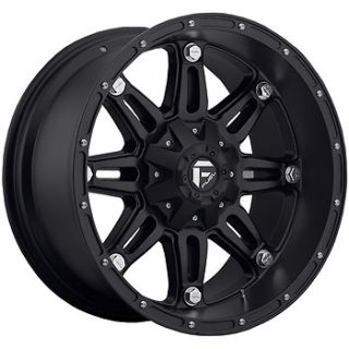 18x12 Black Fuel Hostage Hostage 8x6.5  44 Rims Toyo Open Country MT