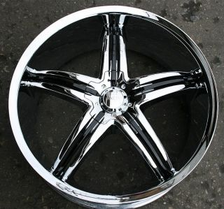 VISCERA 770 20 CHROME RIMS WHEELS MAXIMA ALTIMA MURANO
