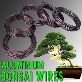 Bonsai Training Wire 5 Sizes 1.5 To 3.5 mm 150 gm Aluminum Roll Tool