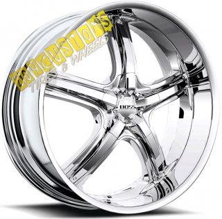 Wheels 333 Chrome Rims Tires 5x115 Chrysler 300 300C 2011 2012