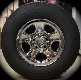 NEW 2012 Dodge Ram Chrome 17 Factory OEM Wheels Rims P265/70R17 Tires