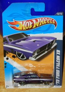 Hot Wheels 73 Ford Falcon XB 2012 Muscle Mania