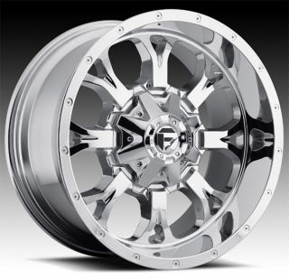 CHROME FUEL OFF ROAD D516 KRANK 5X135 EXPEDITION NAVIGATOR RIMS WHEELS