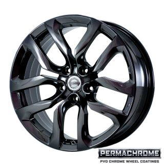 Nissan 370Z 2010 2011 Black Chrome Wheels Exchange