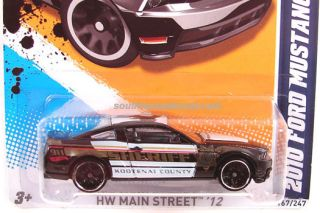 Hot Wheels 2010 Ford Mustang GT 2012 New