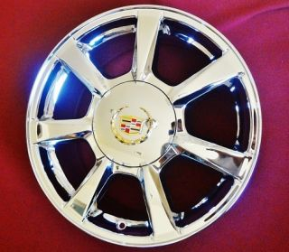 Cadillac cts 2008 2009 Chromed Factory 17 Wheels