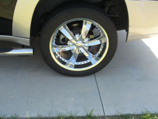 2007 and Newer Tires and Rims for Chevy Trailblazer or GMC Envoy