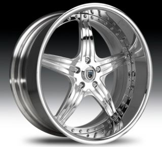 32 asanti AF144 Chrome Wheels Rims 3 Piece