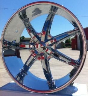 Wheels U2W35 Chrome Hummer H3 2005 2006 2007 2008 2009 2010