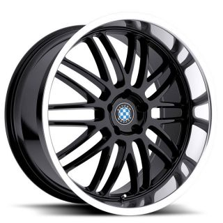 20 x 10 Beyern Mesh Gloss Black Wheels Rims 5x120 2010BYM305120B72 Set