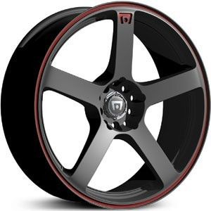 17 inch Motegi Racing MR116 Black Wheels Rims 5x112 40
