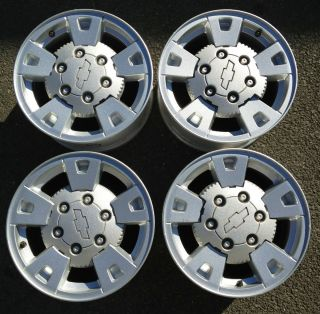 Chevy Colorado GMC Canyon Stock Factory 15 Wheels Rims Caps