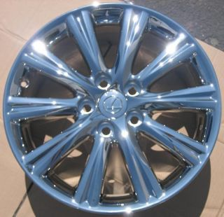 Stock 4 Factory 17 Lexus ES350 Chrome Wheels Rims 2007 2012