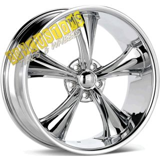 Wheels 338 Chrome Rims Tires 5x115 Dodge Magnum 2006 2007 2008