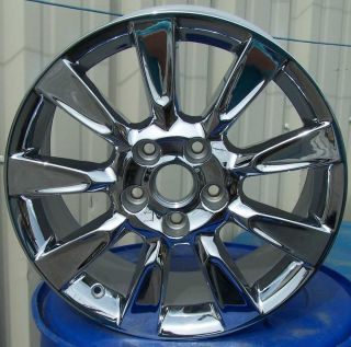 18 Chrome Alloy Wheels Rims for 2005 2006 2007 2008 2009 Cadillac XLR