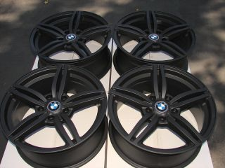 Black Effects Wheels BMW 528 530 525 645 740 645 M3 M5 5 Lug Rims