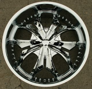 22 Chrome Rims Wheels Jaguar s Type s Type 22 x 8 5 5H 40