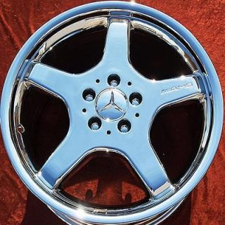 NEW 18 MERCEDES BENZ SL500 AMG CHROME OEM WHEELS RIMS 65279 EXCHANGE