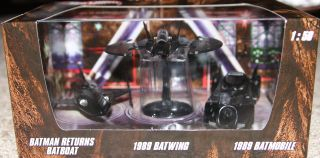 2012 RARE Set of 3 Batman Hot Wheels 1 50 Diecast Cars Batwing Batboat