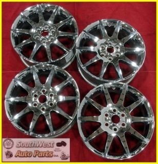 07 08 09 10 11 Acadia Enclave Outlook 19 Chrome Wheels Used Set Rims